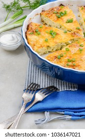 Low-carb cabbage casserole