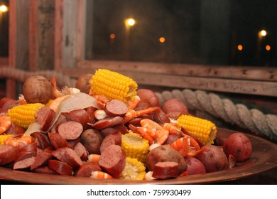 Lowcountry Boil Dock Party