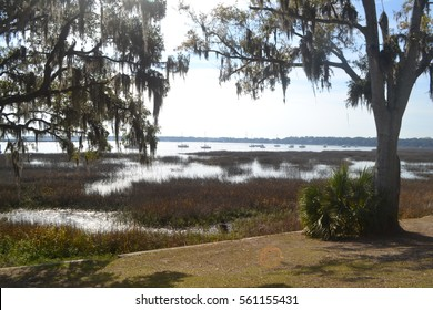 Lowcountry South Carolina near Beaufort and Parris Island