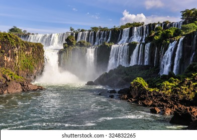 Lowe part at Iguazu Falls, one of the New Seven Wonders of Nature, Argentina