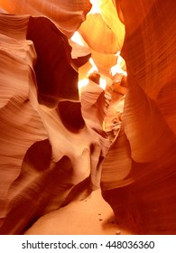 Lower Antelope Canyon in Northern Arizona, Navajo Nation Territory