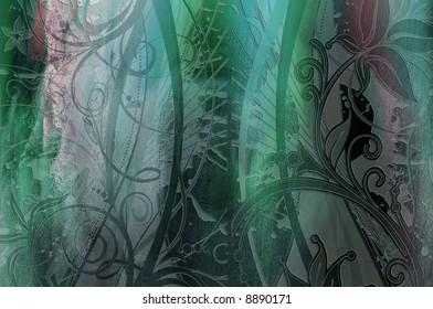 lower border,flower wonderland illustrations cards art artistic backgrounds texture decoration garden nature texture design color graphic ,love