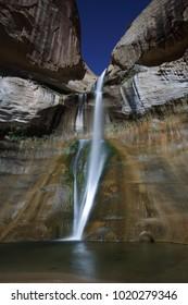 Lower Calf Creek Falls in Escalante