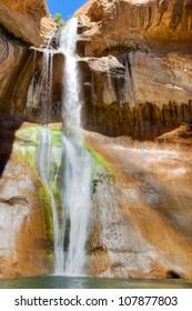 Lower Calf Creek Falls in Escalante.