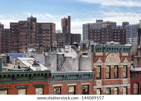 Lower East Side Rooftops