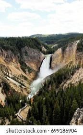 Lower Falls, Grand Canyon of Yellowstone, Wyoming