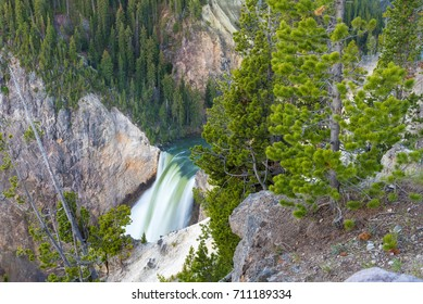 Lower Falls in the Grand Canyon of Yellowstone, Yellowstone National Park, Wyoming
