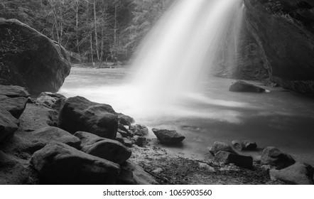 Lower Falls Hocking Hills Ohio