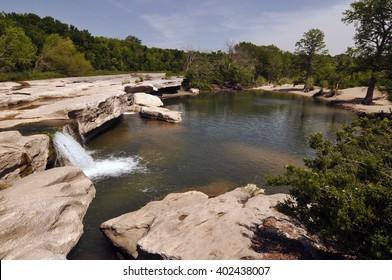 Lower Falls, Mckinney Falls State Park, Austin Texas