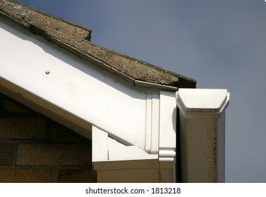 Lower part of gable end