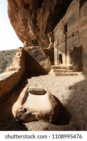 The lower Salado cliff dwelling at Tonto National Monument