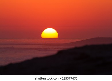 Lower Trestles Sun ball, SC, CA