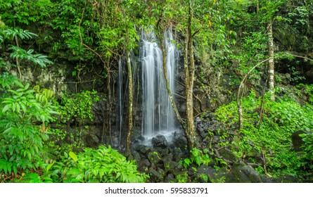 Lower waterfall