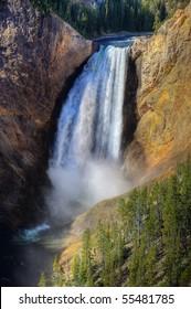 Lower Yellowstone Falls, Yellowstone National Park