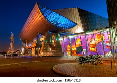 The Lowry is a theatre and gallery complex situated at Salford Quays, Greater Manchester, England