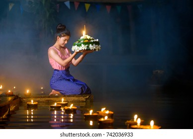 Loy Krathong Festival, Loy Krathong Festival is traditionally inherited from ancient times, the blessing of the Thai people.