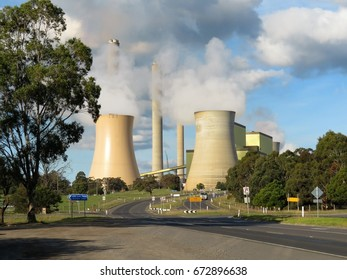 Loy Yang, Victoria, Australia 07/07/2017. Loy Yang (B) Engie brown-coal fired Power Station in the Latrobe Valley.
