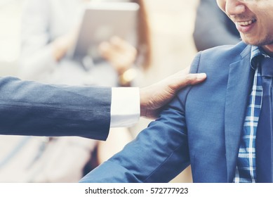 Loyalty Leadership Concept. Habits of Leaders Who Inspire Businessman with Loyalty. Leaders still excel at remarkable customer help collaboration loyal teams dependable  true value customer.