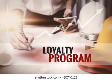 Loyalty Program text in frame.