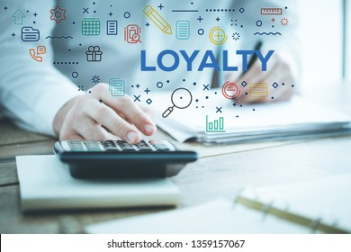 LOYALTY AND WORKPLACE CONCEPT