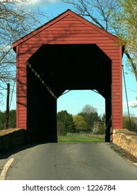 Loy's Station Covered Bridge in Fredrick, MD.