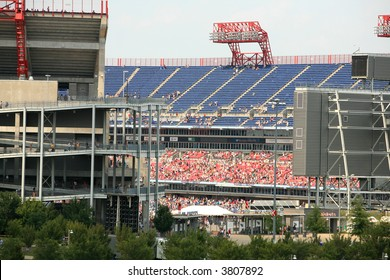 LP Field ( where the Titans play ) in Nashville