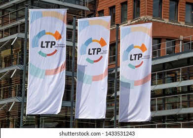 LTP Flags In Front Of The Company Building At Amstelveen The Netherlands 2019