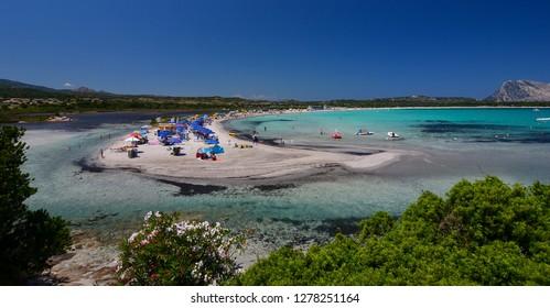 Lu Impostu Beach on Sardinia Island