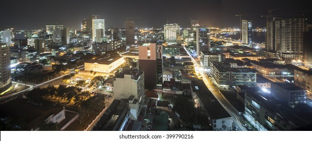 Luanda, Angola at Night