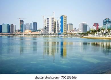 Luanda city by daylight