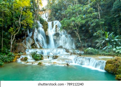 luang prabang waterfall tad sae