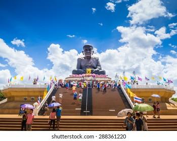 Luang Pu Thuat Wat Huay Mongkol Hua-Hin,THAILAND 1 JUNE 2015