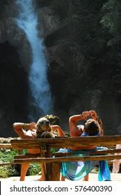 Luangprabang Kwangsi waterfall