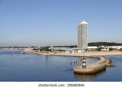 Lubeck, Germany: port.