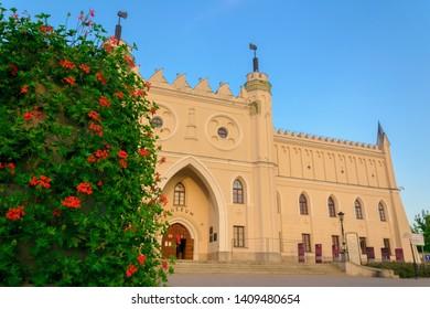 Lublin, Poland - 19 of May 2019: Lublin castle at day, Poland landmark