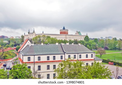 LUBLIN, POLAND - APRIL 29, 2019: Photo of Lublin Castle.