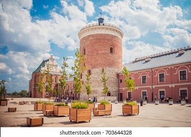 Lublin, Poland - August 19, 2017:Lublin castle