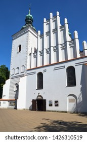 LUBLIN, POLAND - JULY 30 2017: Church of the Assumption of Our Lady of Victory in Old Town of Lublin.