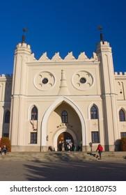 LUBLIN, POLAND - October 15, 2018: Lublin Royal Castle in Lublin