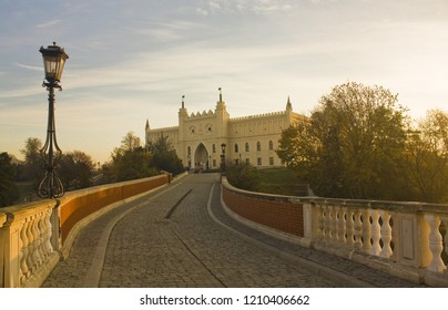 LUBLIN, POLAND - October 15, 2018: Lublin Royal Castle at evening in Lublin