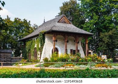 Lublin, Poland, September 01, 2018: Open Air Village Museum in Lublin, Poland