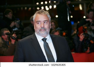 Luc Besson attends the 'Eva' premiere during the 68th l Film Festival Berlin at Berlinale Palast on February 17, 2018 in Berlin, Germany.