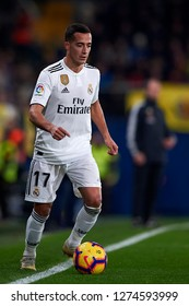 Lucas Vazquez of Real Madrid during the week 17 of La Liga match between Villarreal CF and Real Madrid at Ceramica Stadium in Villarreal, Spain on January 3 2019.