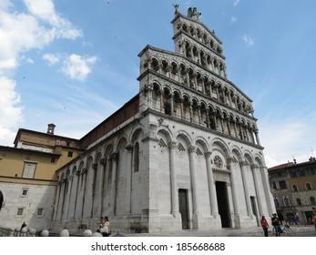 Lucca, church of Saint Michael