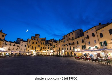 Lucca in the evening