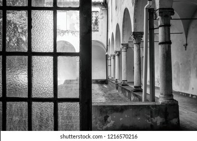 Lucca, Italy, october 1, 2018: Madhouse of Maggiano (Lucca)