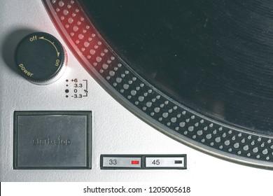Technics Sl 1200 Mk7 Images, Stock Photos & Vectors