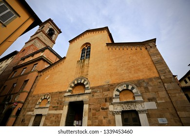 Lucca, Italy-October 6, 2016: Church of San Salvatore, Lucca.