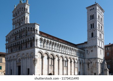 Lucca- tuscany, Italy monuments, Church of San Michele in Foro