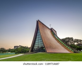 The Luce  Memorial Chapel in Taichung City.
